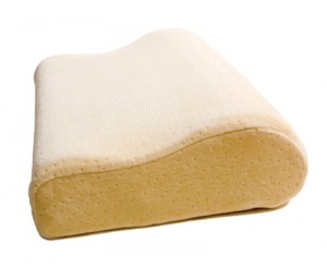 Contour Pillow Made of Memory Foam